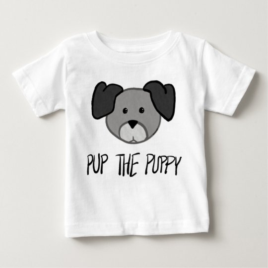 Pup the Puppy -Baby /Kids T Shirt