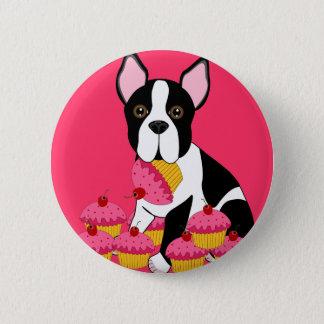 Pupcakes 6 Cm Round Badge