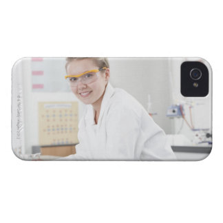 Pupil in a science lesson. Case-Mate iPhone 4 cases