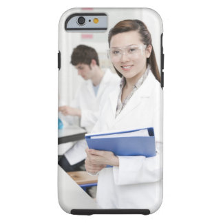 Pupils in a science lesson. tough iPhone 6 case