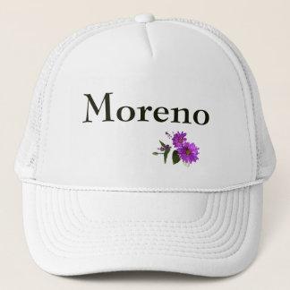 Puple Daisies Design- Olive Lettering Trucker Hat