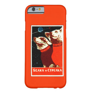 Pupniks Belka & Strelka Soviet Space Dogs iPhone 6 Barely There iPhone 6 Case