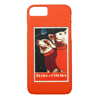 Pupniks Belka & Strelka Soviet Space Dogs iPhone 7 iPhone 7 Case