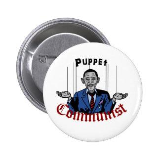 Puppet Comunist 6 Cm Round Badge