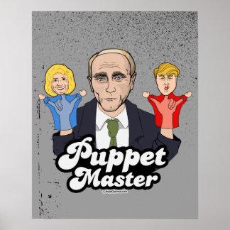 Puppet Master Putin Poster