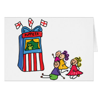 Puppet Show Note Cards