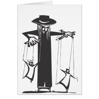 Puppeteer Greeting Card