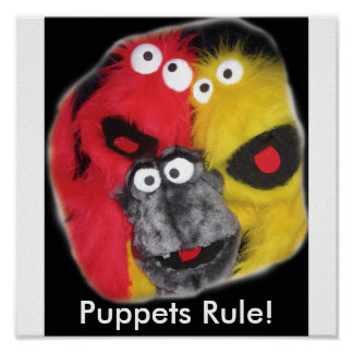 Puppets Rule! poster