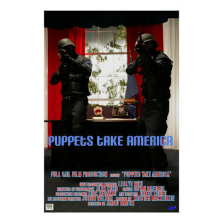 Puppets Take America Poster