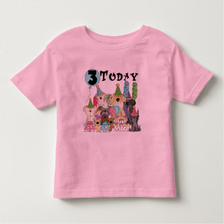 Puppies 3rd Birthday Bash Tshirts and Gifts