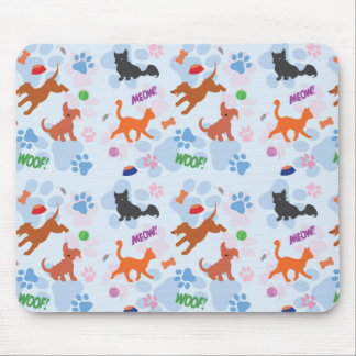 Puppies and Kittens Mouse Pad