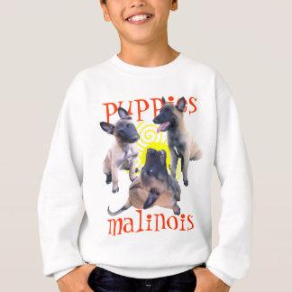 puppies malinois sweatshirt