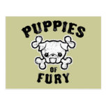 Puppies of Fury Postcards