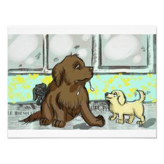 Puppies! Photo Print