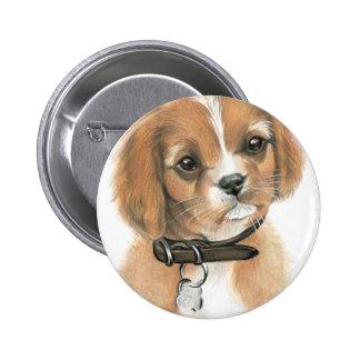 Puppy 6 Cm Round Badge