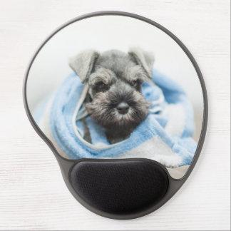Puppy After Bath Gel Mouse Mat