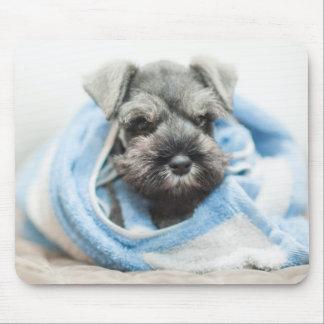 Puppy After Bath Mouse Mat
