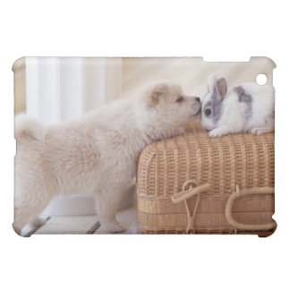 Puppy and rabbit case for the iPad mini