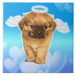 Puppy Angel Tile