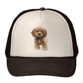 Puppy art cap