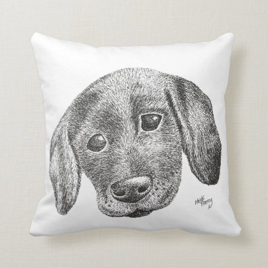 Puppy Art Cushion
