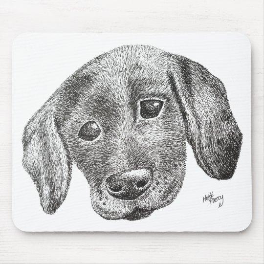 Puppy Art Mouse Mat