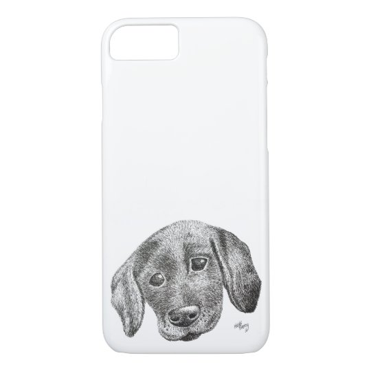 Puppy Art Phone Case