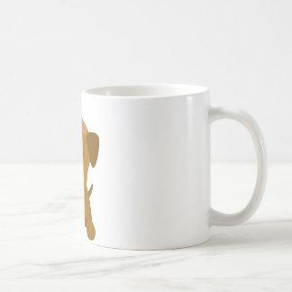 Puppy Big Paws Basic White Mug