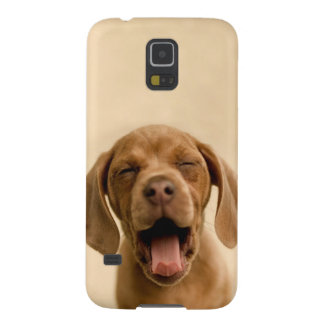 """Puppy Breath"" Chocolate Lab Puppy Samsung Case Galaxy S5 Covers"