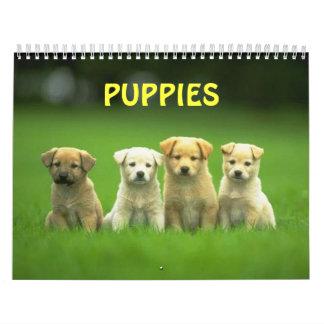 puppy calender calendars