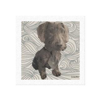 Puppy canvas