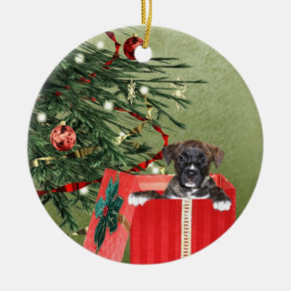 Puppy Christmas Christmas Ornament
