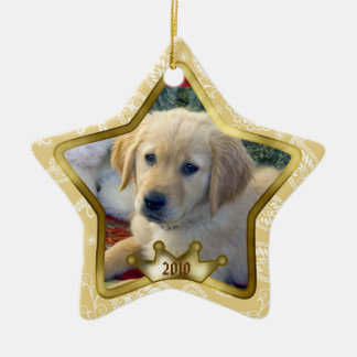 Puppy Christmas Ornament