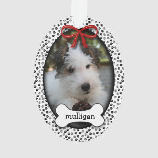 Puppy Dog First Christmas OR Commemorative Ornament