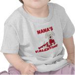 Puppy Dog Nana's Valentine Tshirts