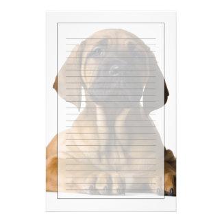 Puppy Dog Personalized Stationery