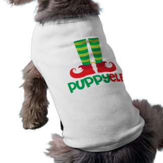 Puppy Elf Sleeveless Dog Shirt
