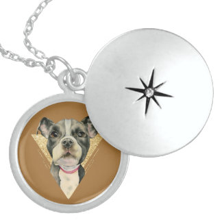 Puppy Eyes 3 Locket Necklace