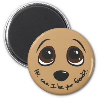 Puppy Eyes Fridge Magnets