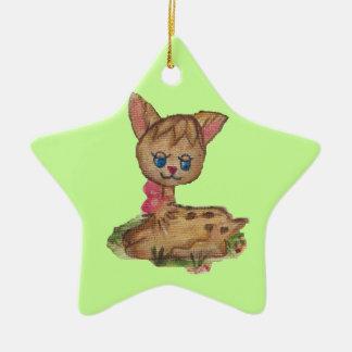 puppy girl ornament