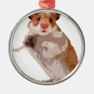 Puppy Hamster Christmas Ornament