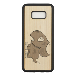 Puppy Illustration Carved Samsung Galaxy S8+ Case