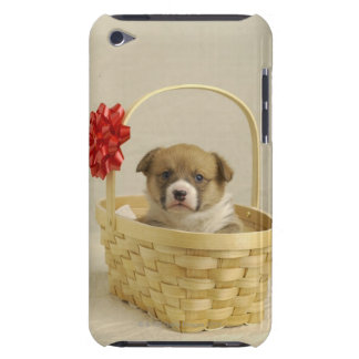 Puppy in a basket barely there iPod case