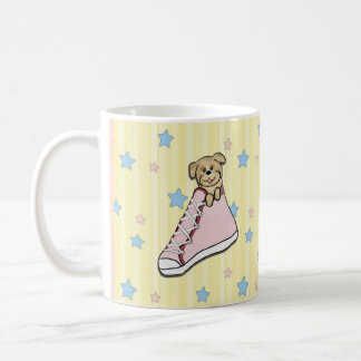 Puppy in a Pink Shoe Mug