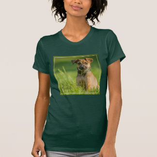 Puppy In The Grass T-Shirt