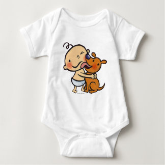 Puppy Kisses for the Baby Baby Bodysuit