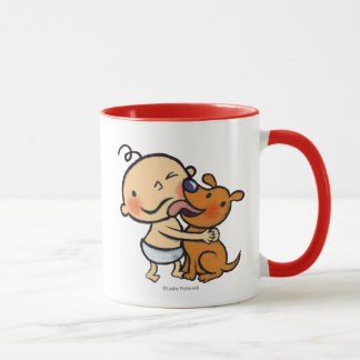 Puppy Kisses for the Baby Mug