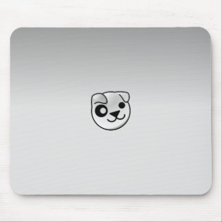 Puppy Linux Grey Mouse Mat