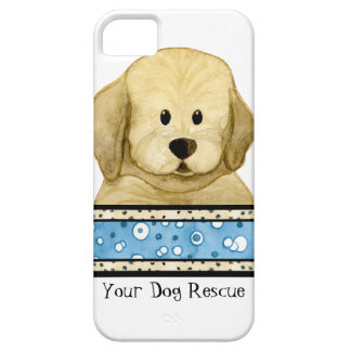Puppy Love Brown Dog Paws Doggy Rescue Group iPhone 5 Case