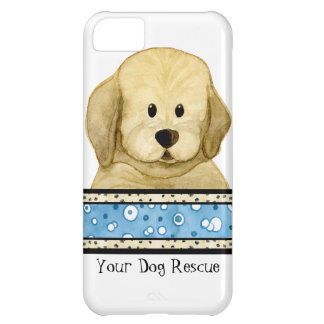 Puppy Love Brown Dog Paws Doggy Rescue Group iPhone 5C Case
